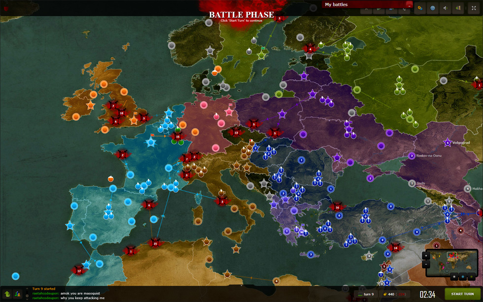 play free online games war strategy
